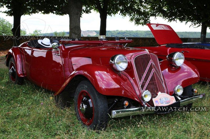 Citroën Traction AV Cabriolet 1937 - 7ème traversée de Paris estivale