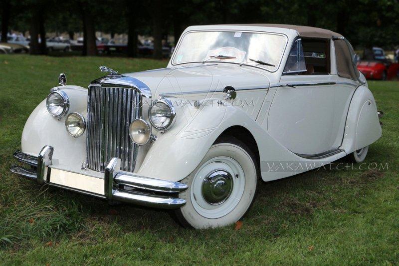 Jaguar Cabriolet 1949 - 7ème traversée de Paris estivale
