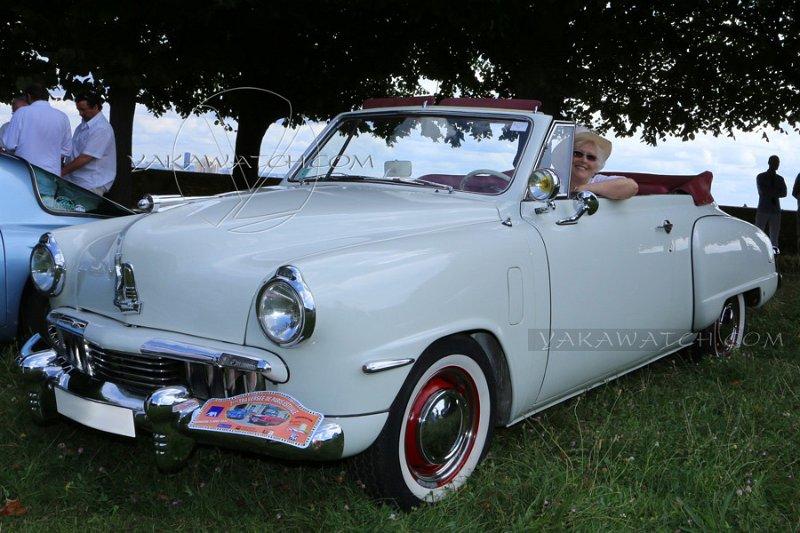 Studebaker Champion Convertible 1947 - 7ème traversée de Paris estivale