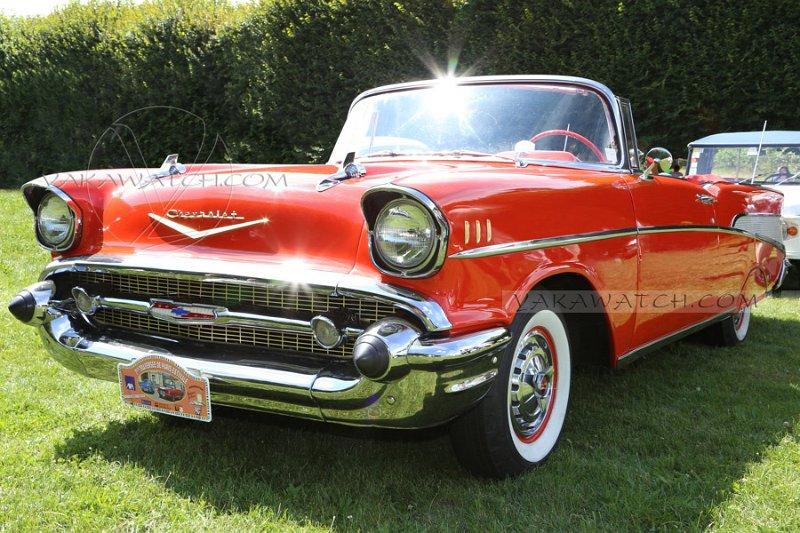 Chevrolet BelAir Convertible 1957 - 7ème traversée de Paris estivale